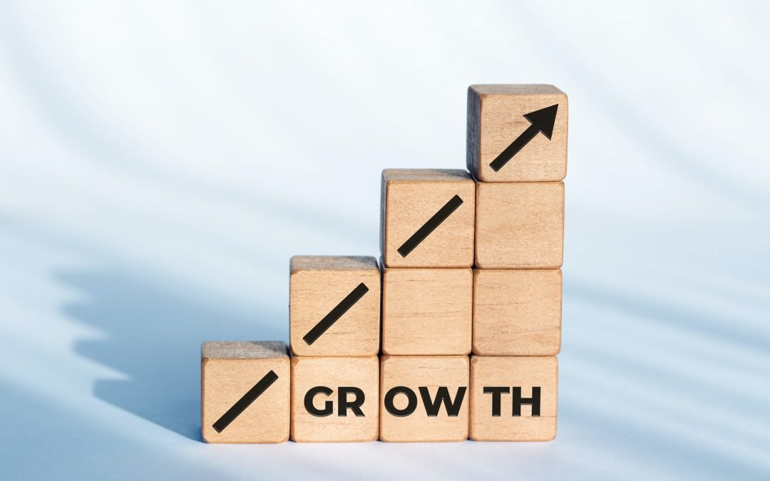 Growth or business concept